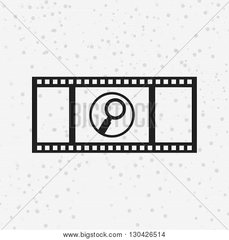 tape reel design, vector illustration eps10 graphic