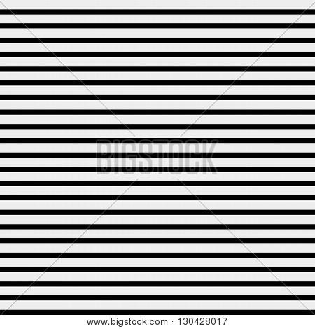 Seamless simple monochrome minimalistic pattern. Straight horizontal lines