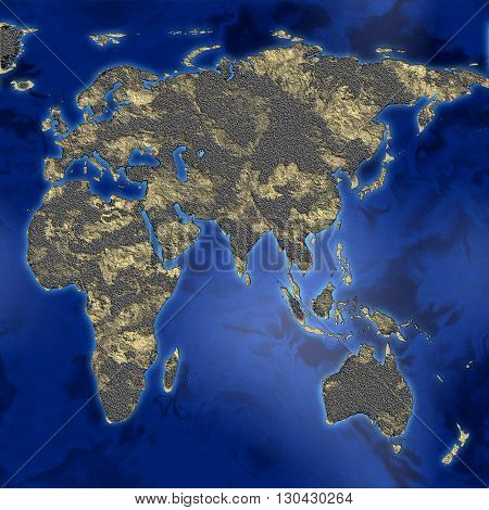 an abstract map of the earth texture stock image
