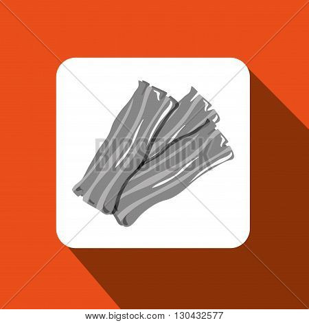 bacon isolated design, vector illustration eps10 graphic