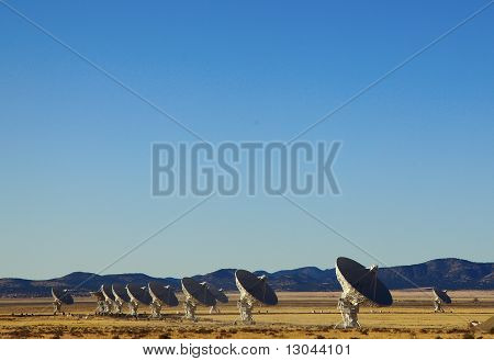 Very Large Array Telescope searches for intelligent life