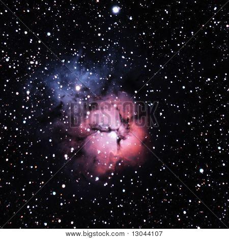 Trifid Nebula in Sagittarius