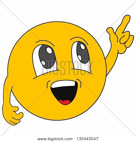 Emoticons. Emoji. Нellow ыmile icons . Isolated illustration
