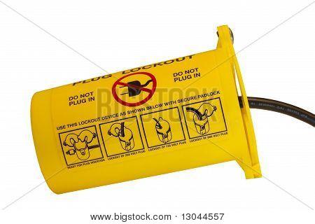 Electric Plug Lockout Device