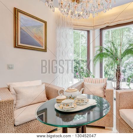 Picture of sitting room in exclusive villa