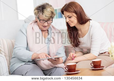Priceless Time With Wonderful Grandmother