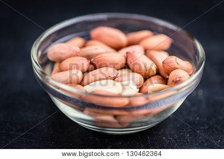Portion Of Peanut Seeds