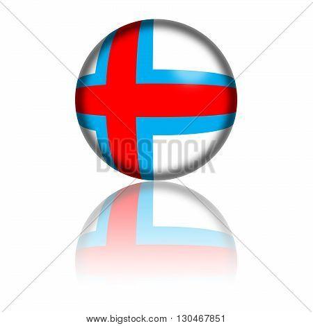 Faroe Islands Flag Sphere