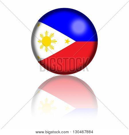 Philippines Flag Sphere
