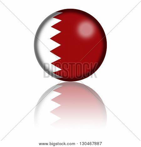 Qatar Flag Sphere