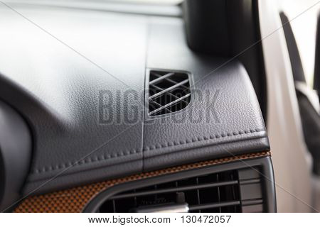 Air Conditioner Inside Of New Car