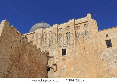 Al-Aqsa mosque is located on the south side of the temple mount in Jerusalem, Israel, and is the 3rd holiest site in Islam.
