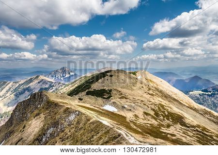 Spring Mountains - Slovakian Little Fatra Hills, Europe