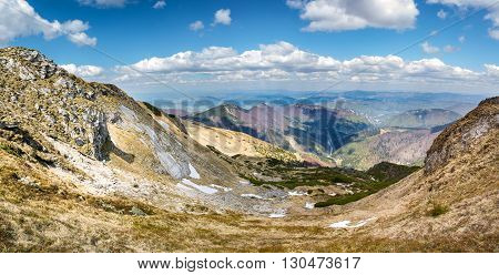 Vratna Valley - Spring Little Fatra Hills, Slovakia, Europe