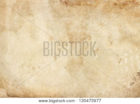 Old stained paper texture for the design.