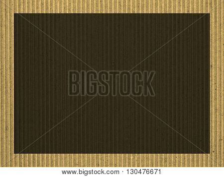 Blank Cardboard Background Sepia