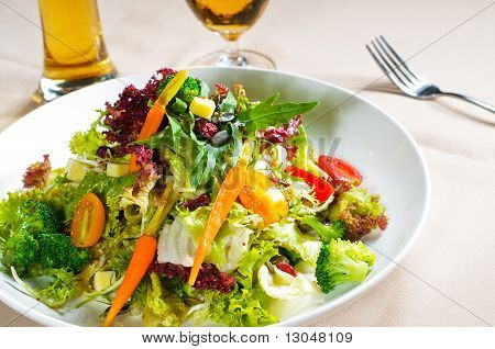 Frischer gemischter Salat