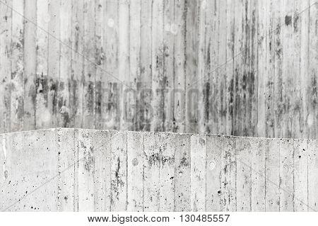 Gray Grungy Walls And Floor, Concrete Interior