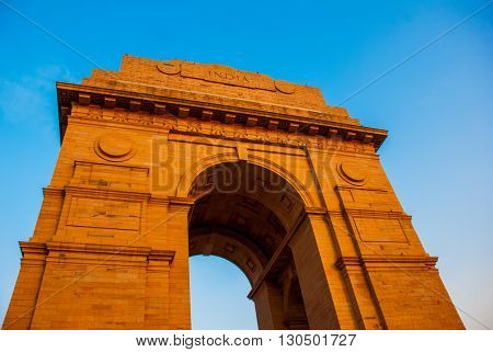 New Delhi, India. The Indian Gate.