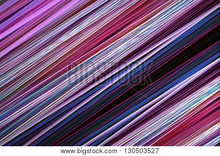 A pink and blue blur lines background