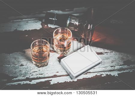 Whiskey And The Best Combination Of Poker