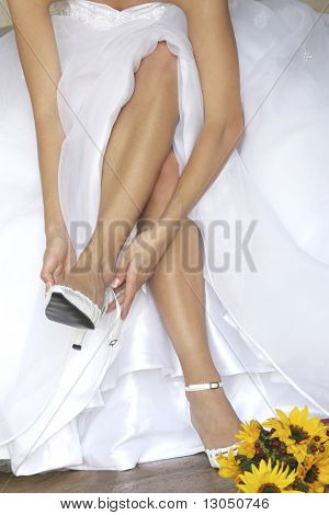 Bride Fitting Shoe