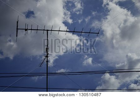 Antenna, and used in the old days.