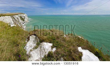 Falésias brancas de Dover