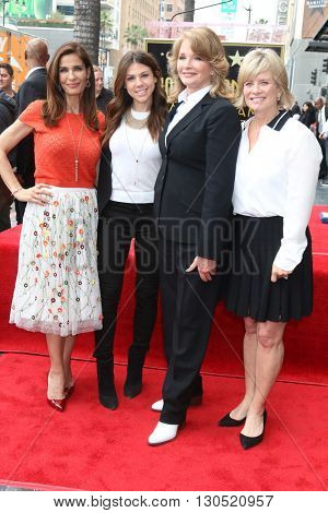 LOS ANGELES - MAY 19:  Kristian Alfonso, Kate Mansi, Deidre Hall, Mary Beth Evans at the Deidre Hall Hollywood Walk of Fame Ceremony at Hollywood Blvd. on May 19, 2016 in Los Angeles, CA