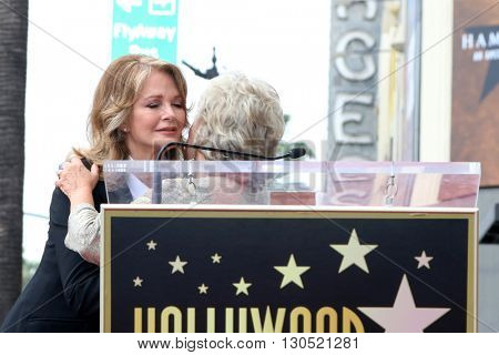 LOS ANGELES - MAY 19:  Deudre Hall, Susan Seaforth Hayes at the Deidre Hall Hollywood Walk of Fame Ceremony at Hollywood Blvd. on May 19, 2016 in Los Angeles, CA