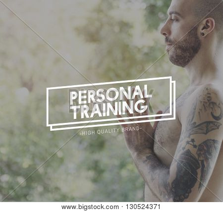 Personal Training Coaching Ideas Inspire Skills Concept