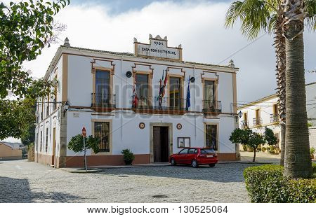 Aldea del Cano Town Hall is a Spanish municipality in the province of Caceres Extremadura.