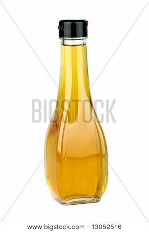 Glass Bottle With Apple Vinegar