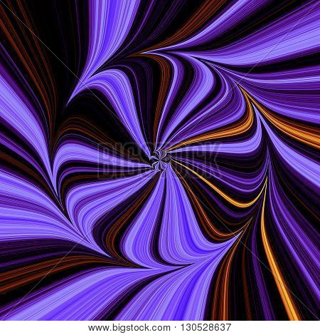 Abstract background of blue, black, gold and red shapes creating illusion of movement