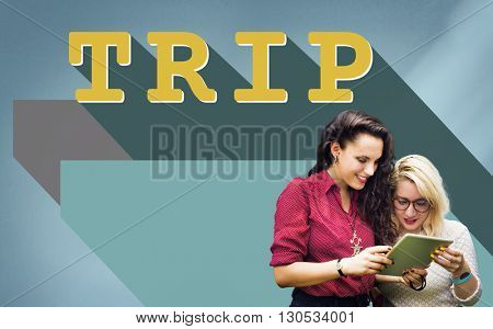 Holiday Vacation Journey Travel Tour Concept