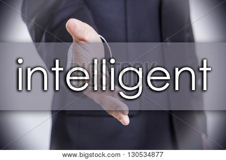 Intelligent - Business Concept With Text