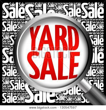 Yard Sale Word Cloud