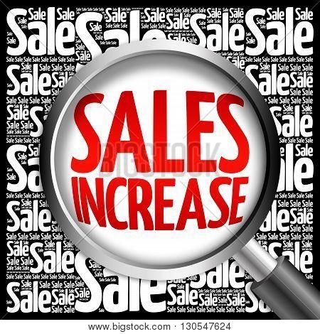 Sales Increase Sale Word Cloud
