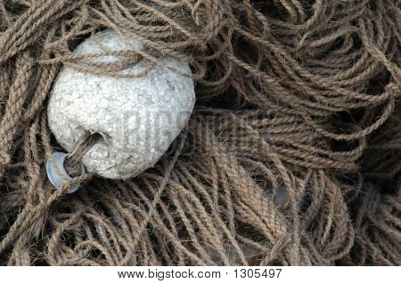 Fishing Net And Float