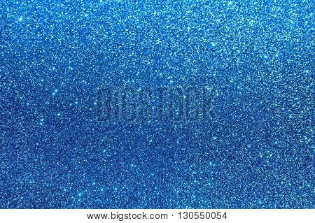 blue shiny background horizontal stardust, sparkle blue