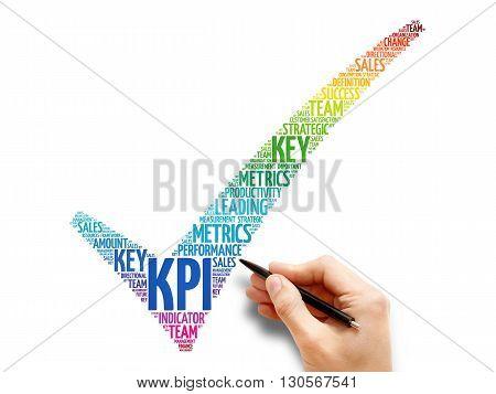 Kpi - Key Performance Indicator Check Mark