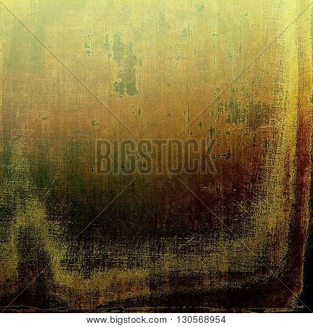 Vintage retro frame or background, old school textured backdrop. With different color patterns: yellow (beige); brown; green; gray; black