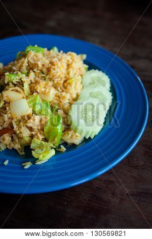 Thai Fried Rice With Vegetables