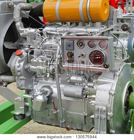 Powerful Axiliuary Diesel Engine for Agricultural Works