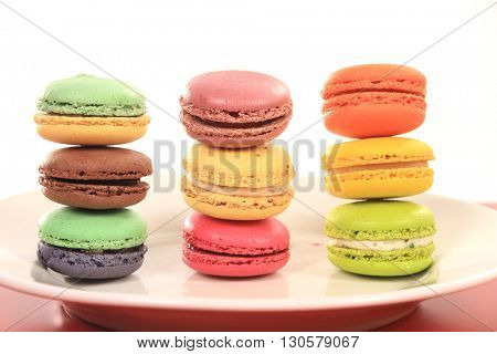 sweet delicacy, macaroons variety