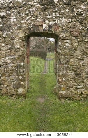 Old Stone Doorway