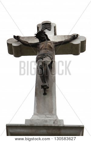 Jesus And Crucifix