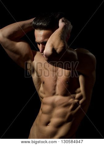 Sexy Muscular Male