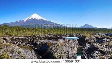 Osorno volcano, Vicente Perez Rosales National Park, Patagonia, Chile