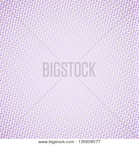 Abstract light background with small dots pattern in violet shades